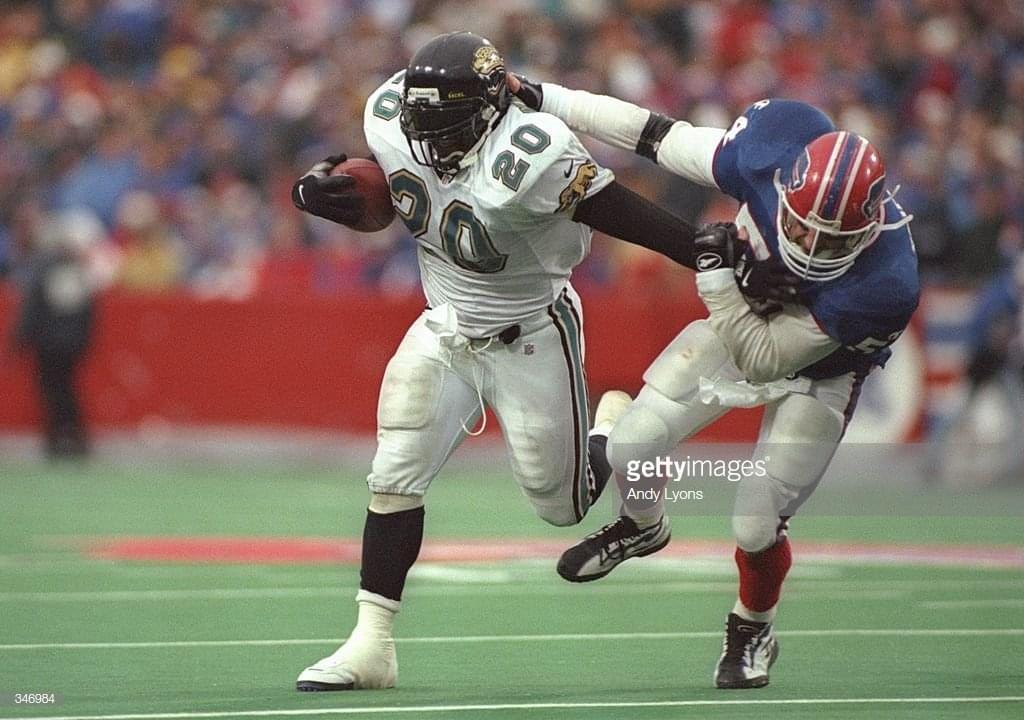 Natrone Means recalls special 1996 Jaguars season