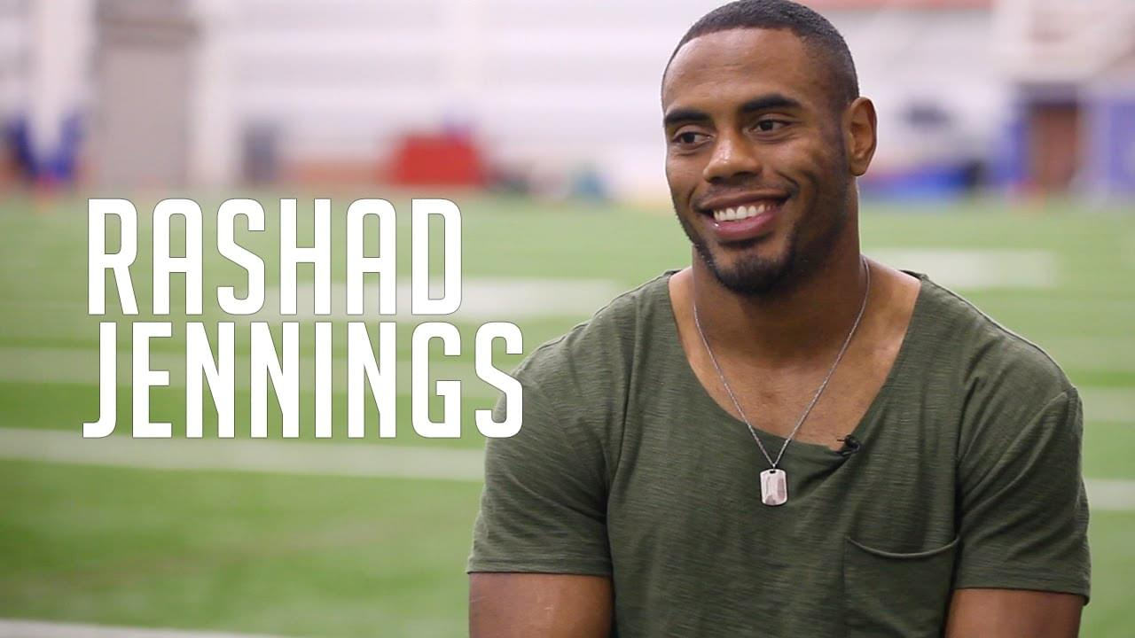 Rashad Jennings will always fondly remember Jacksonville