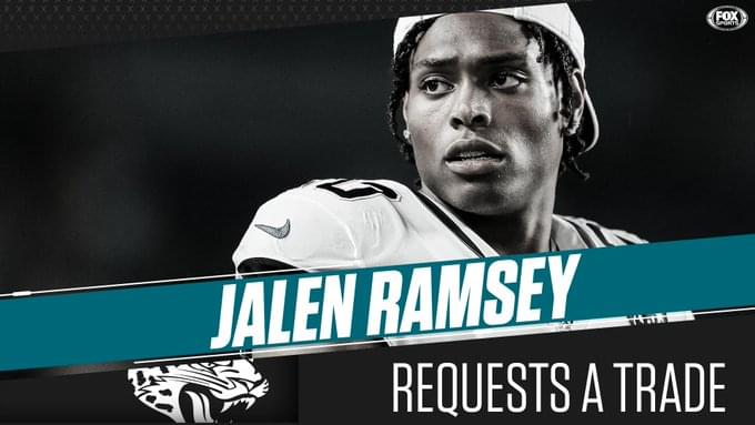 Jalen Ramsey makes it clear he wants out in bizarre press conference